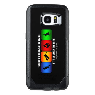 Cool Skateboarding It Is A Way Of Life OtterBox Samsung Galaxy S7 Edge Case
