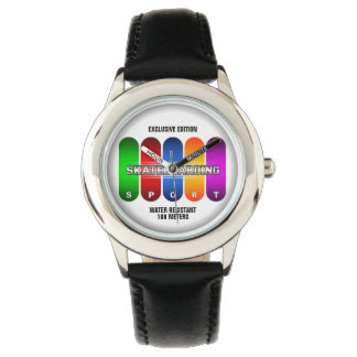 Cool Skateboarding Sport Watch (Multiple Models)