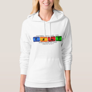 Cool Ski It Is A Way Of Life Hoodie