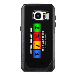 Cool Ski It Is A Way Of Life OtterBox Samsung Galaxy S7 Edge Case