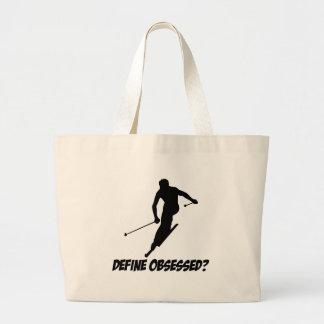 Cool Skiing designs Tote Bag