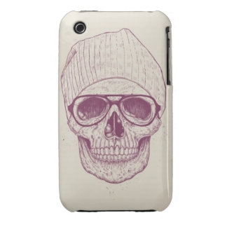 Cool skull iPhone 3 Case-Mate cases