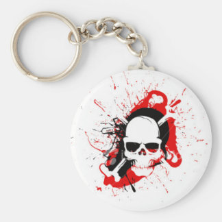 Cool Skull Key Ring