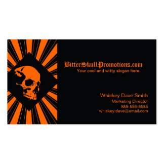 Cool SkullBurst Business Cards
