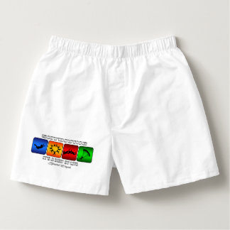 Cool Skydiving It Is A Way Of Life Boxers