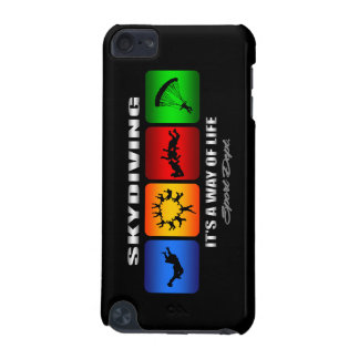 Cool Skydiving It Is A Way Of Life iPod Touch 5G Covers