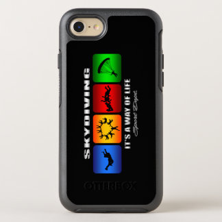 Cool Skydiving It Is A Way Of Life OtterBox Symmetry iPhone 8/7 Case