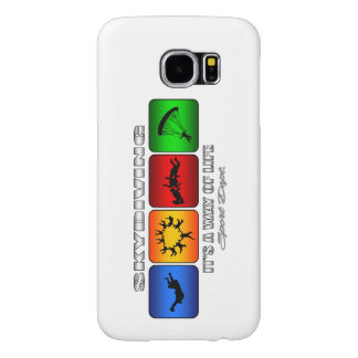Cool Skydiving It Is A Way Of Life Samsung Galaxy S6 Cases