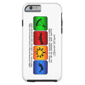 Cool Skydiving It Is A Way Of Life Tough iPhone 6 Case