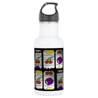 Cool Slot Machine Pattern 532 Ml Water Bottle