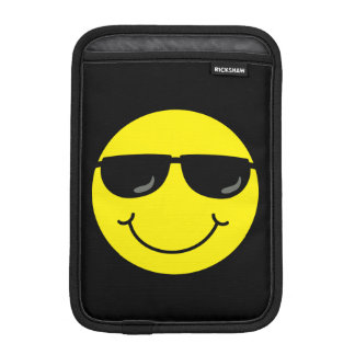 Cool Smiley Face with Sunglasses Sleeve For iPad Mini