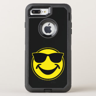 Cool Smiley yellow + your backg. & ideas OtterBox Defender iPhone 7 Plus Case