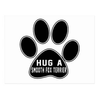 Cool Smooth Fox Terrier Designs Postcard