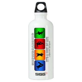Cool Snowboarding It Is A Way Of Life Water Bottle