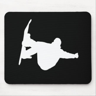 Cool snowboarding mouse pad