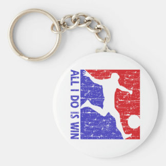 Cool soccer  designs key chain