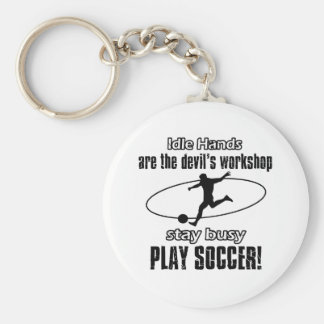 Cool Soccer designs Keychain