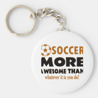 Cool Soccer designs Keychains