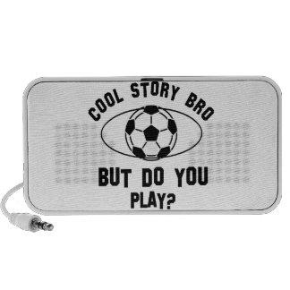 cool soccer designs speaker system