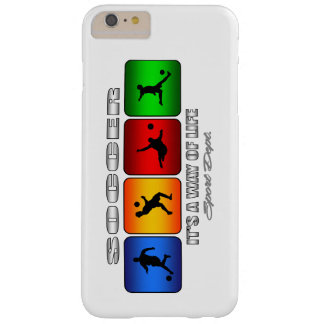 Cool Soccer It Is A Way Of Life Barely There iPhone 6 Plus Case