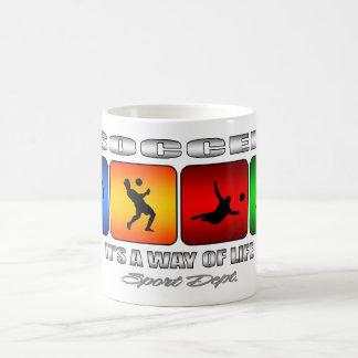 Cool Soccer It Is A Way Of Life Coffee Mug