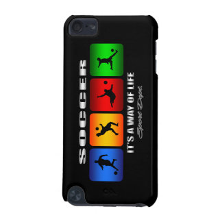 Cool Soccer It Is A Way Of Life iPod Touch (5th Generation) Case
