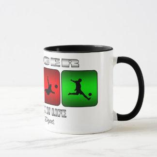 Cool Soccer It Is A Way Of Life Mug