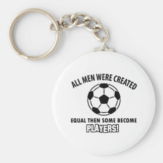 cool soccer player design key chain