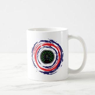 Cool Speed Emblem (Red Blue And White) 1 Basic White Mug