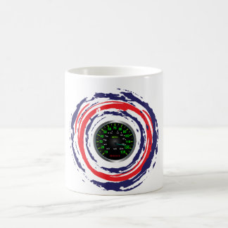 Cool Speed Emblem (Red Blue And White) 1 Coffee Mugs