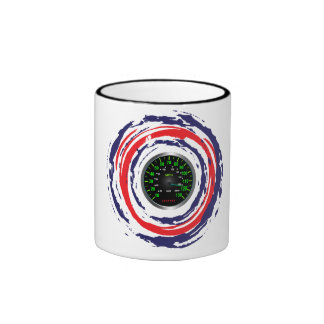 Cool Speed Emblem (Red Blue And White) 1 Coffee Mug