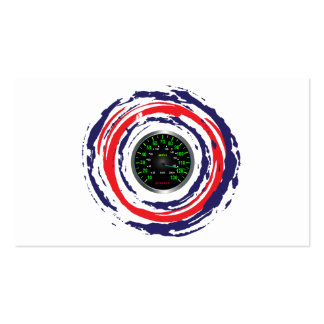 Cool Speed Emblem (Red Blue And White) 1 Pack Of Standard Business Cards