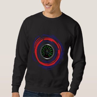 Cool Speed Emblem (Red Blue And White) 1 Pull Over Sweatshirt