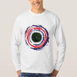 Cool Speed Emblem (Red Blue And White) 1 T-Shirt