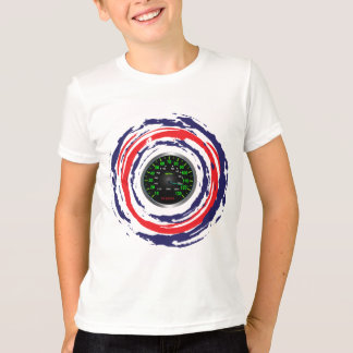 Cool Speed Emblem (Red Blue And White) 1 Tee Shirt