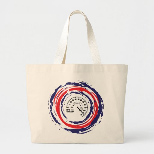 Cool Speed Emblem (Red Blue And White) 2 Tote Bag