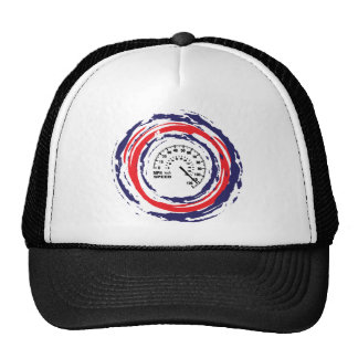 Cool Speed Emblem (Red Blue And White) 2 Trucker Hat
