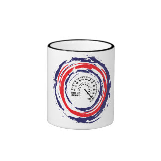 Cool Speed Emblem (Red Blue And White) 2 Mugs