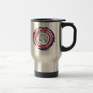 Cool Speed Emblem (Red Blue And White) 2 Stainless Steel Travel Mug