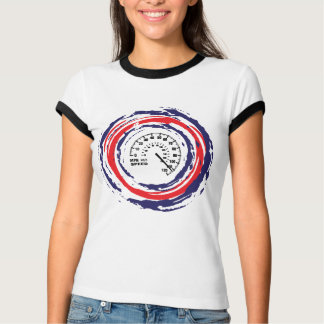 Cool Speed Emblem (Red Blue And White) 2 T-shirt