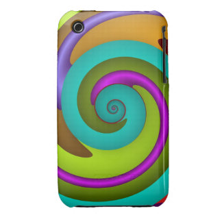 Cool Spiral iPhone 3G/3GS Case iPhone 3 Cover