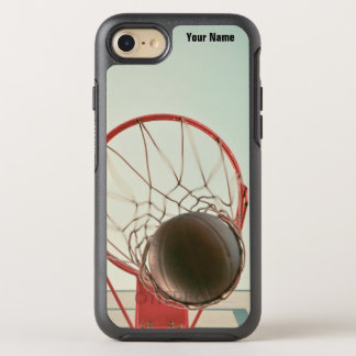 Cool Sporty Basketball Hoop Jump Shot OtterBox Symmetry iPhone 8/7 Case