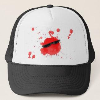 Cool Spot Blood Trucker Hat