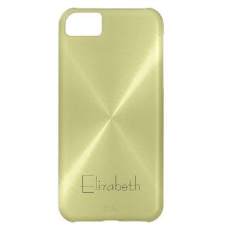 Cool Stainless Steel Metal Look iPhone 5C Case