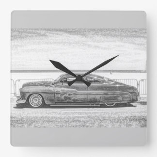 Cool Stance Square Wall Clock