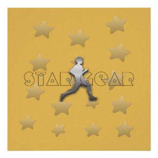 Cool Star Gear Jogger Athletics Poster
