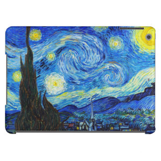 Cool Starry Night Vincent Van Gogh painting iPad Air Cover