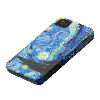 Cool Starry Night Vincent Van Gogh painting iPhone 4 Cover