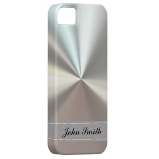 Cool steel look iPhone 5 case