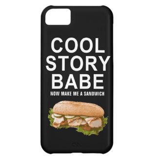 cool story babe iPhone 5C case